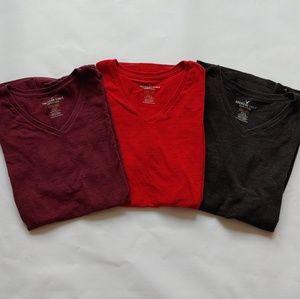 Set of 3 AEO Core Flex T-shirts Size Medium